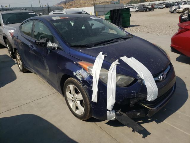 Vehiculos salvage en venta de Copart Farr West, UT: 2012 Hyundai Elantra GL