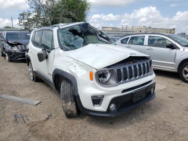 Vehiculos salvage en venta de Copart Mercedes, TX: 2019 Jeep Renegade L