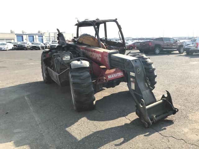 Manitou salvage cars for sale: 2012 Manitou Tractor