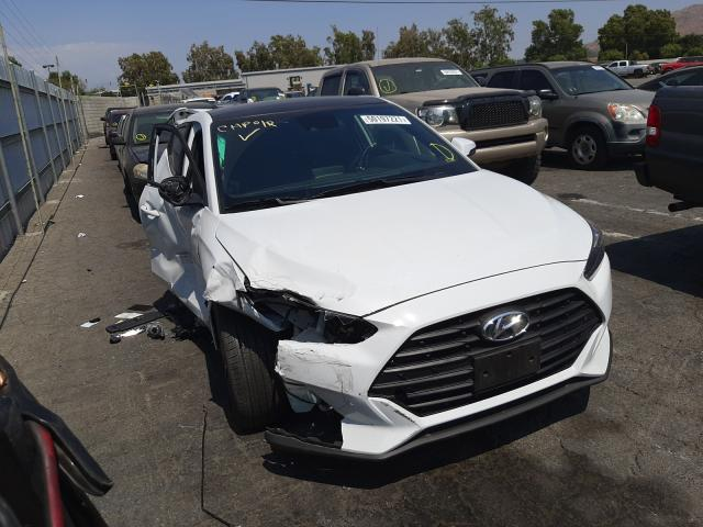 Salvage cars for sale from Copart Colton, CA: 2020 Hyundai Veloster B