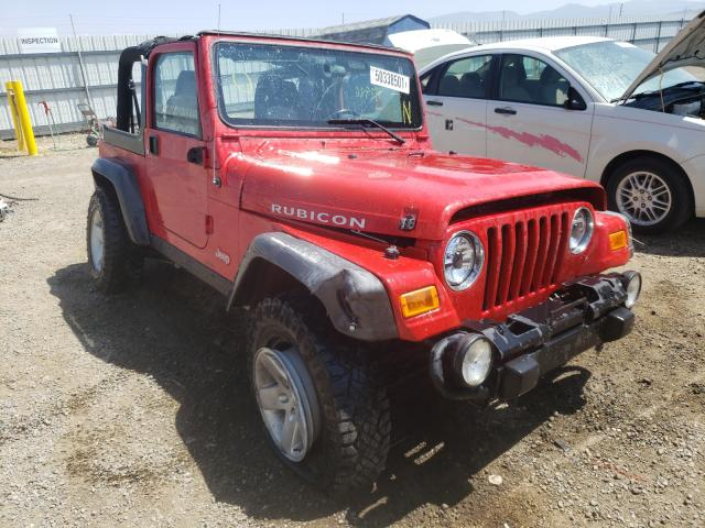 Salvage cars for sale from Copart Helena, MT: 2005 Jeep Wrangler