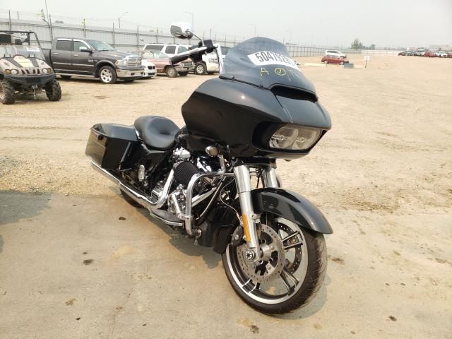 Salvage cars for sale from Copart Nisku, AB: 2017 Harley-Davidson Fltrxs ROA