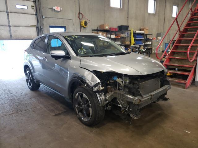 Honda HR-V salvage cars for sale: 2018 Honda HR-V