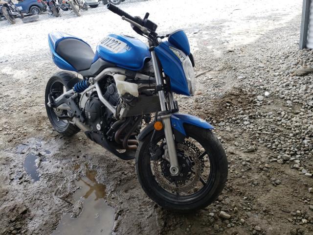 Salvage motorcycles for sale at Ellenwood, GA auction: 2009 Kawasaki ER650 C