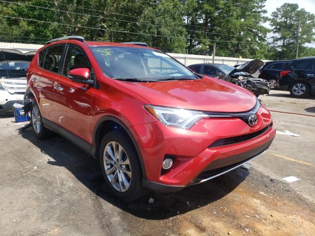 Toyota Rav4 salvage cars for sale: 2016 Toyota Rav4
