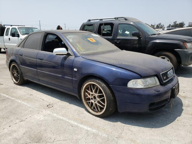 Salvage cars for sale from Copart Sun Valley, CA: 2001 Audi S4 2.7 Quattro