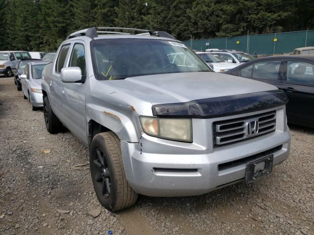 Salvage cars for sale from Copart Graham, WA: 2007 Honda Ridgeline