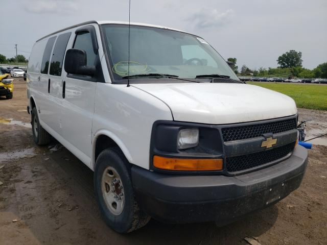 Salvage cars for sale from Copart Columbia Station, OH: 2012 Chevrolet Express G3