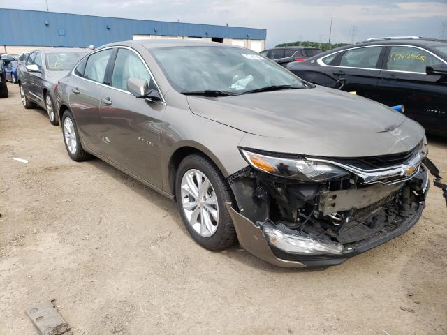 Salvage cars for sale from Copart Woodhaven, MI: 2020 Chevrolet Malibu LT