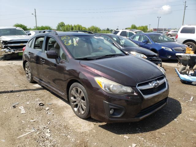 Salvage cars for sale at Indianapolis, IN auction: 2013 Subaru Impreza SP