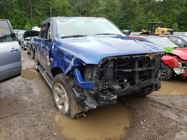 Salvage cars for sale from Copart Lyman, ME: 2017 Dodge RAM 1500 ST