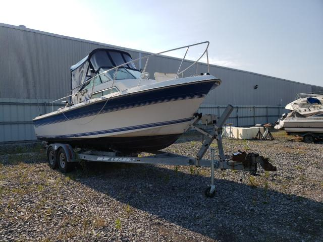 Wells Cargo salvage cars for sale: 1989 Wells Cargo Boat With Trailer