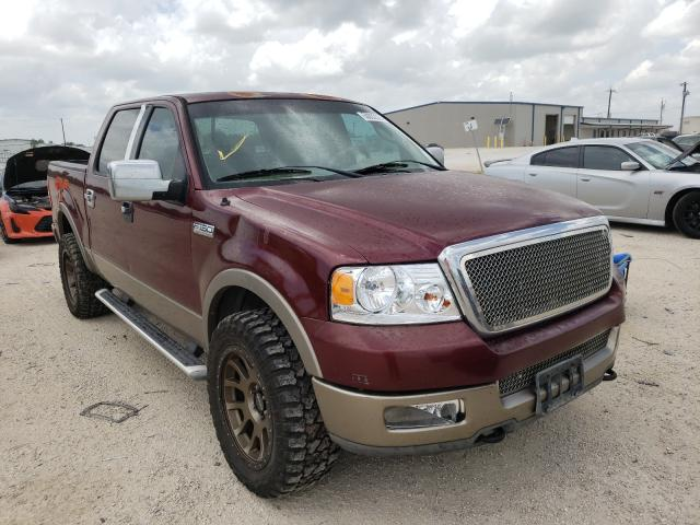 Salvage cars for sale from Copart San Antonio, TX: 2004 Ford F150 Super
