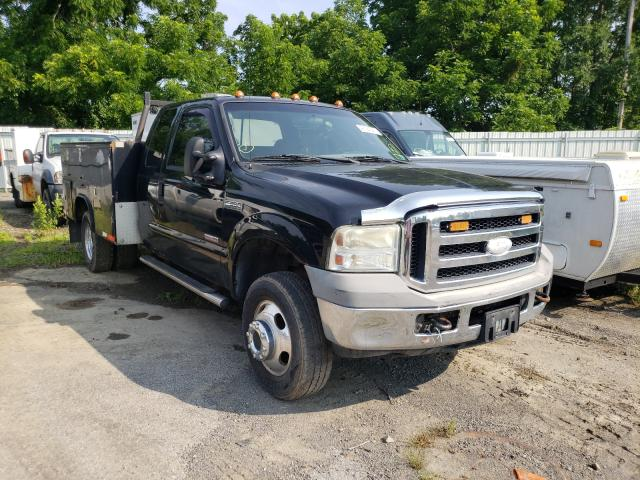 Salvage cars for sale from Copart Marlboro, NY: 2006 Ford F350 Super