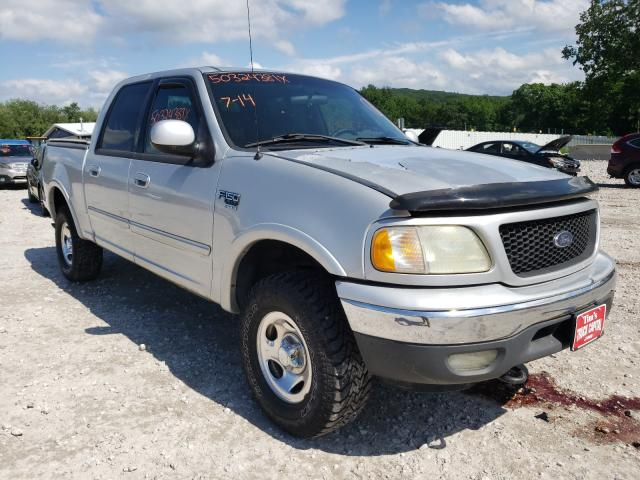 Salvage cars for sale from Copart West Warren, MA: 2002 Ford F150 Super