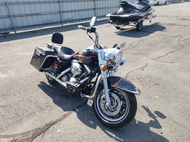 Salvage cars for sale from Copart Exeter, RI: 2000 Harley-Davidson Flhri