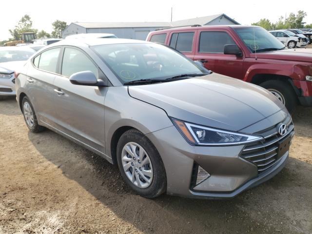 Salvage cars for sale from Copart Pekin, IL: 2020 Hyundai Elantra SE