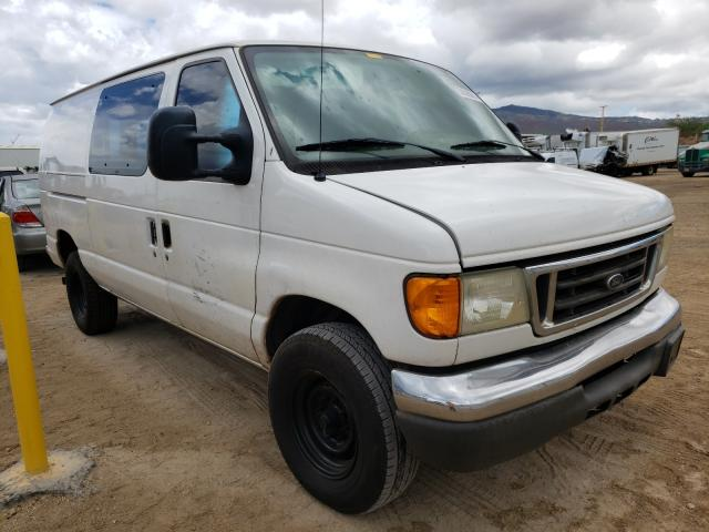 Salvage cars for sale from Copart Kapolei, HI: 2007 Ford Econoline
