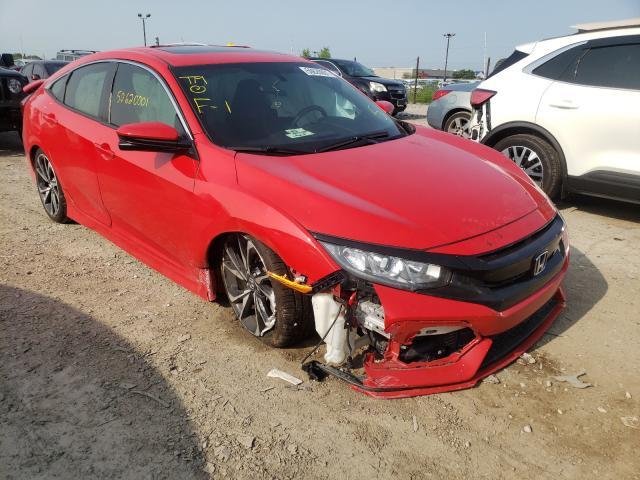Vehiculos salvage en venta de Copart Indianapolis, IN: 2018 Honda Civic SI