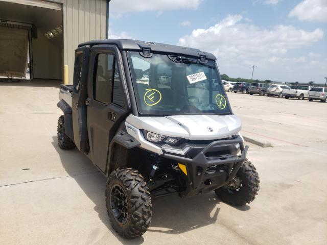 Salvage cars for sale from Copart Wilmer, TX: 2021 Can-Am Defender M