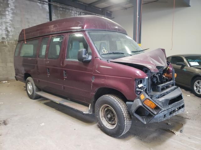 Salvage cars for sale from Copart Chalfont, PA: 2011 Ford Econoline