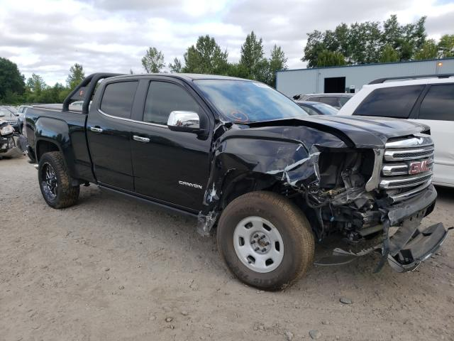 Salvage cars for sale from Copart Portland, OR: 2016 GMC Canyon SLT