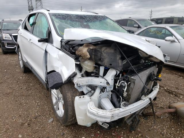 Salvage cars for sale from Copart Elgin, IL: 2020 Ford Edge SEL