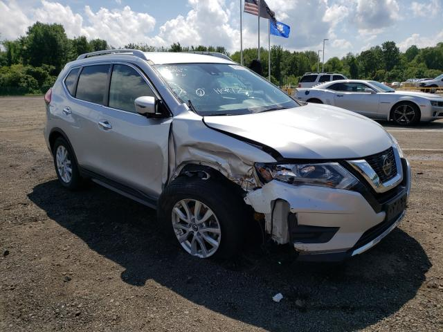 Salvage cars for sale at East Granby, CT auction: 2020 Nissan Rogue S