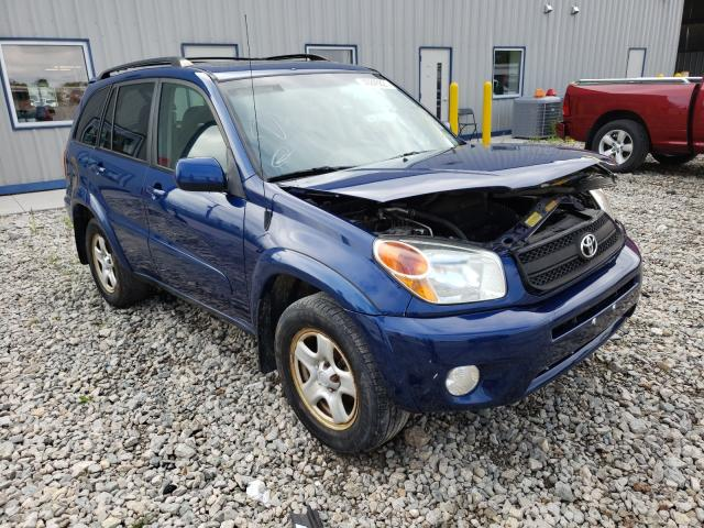 Salvage cars for sale from Copart Appleton, WI: 2005 Toyota Rav4