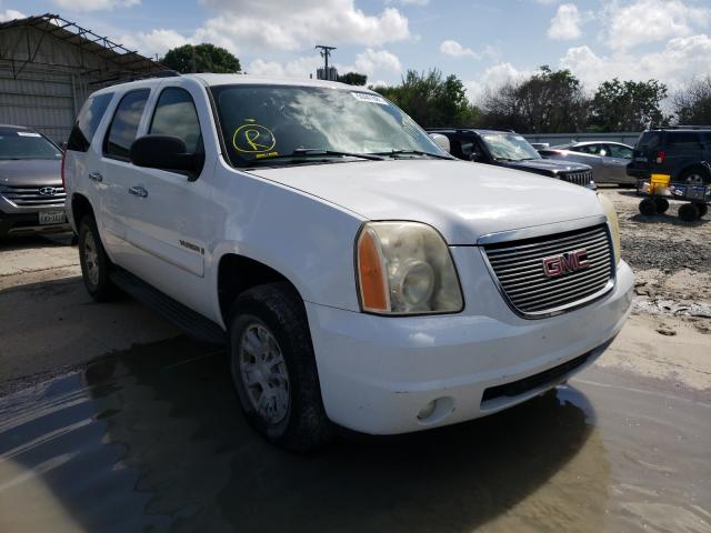 Salvage cars for sale from Copart Corpus Christi, TX: 2008 GMC Yukon