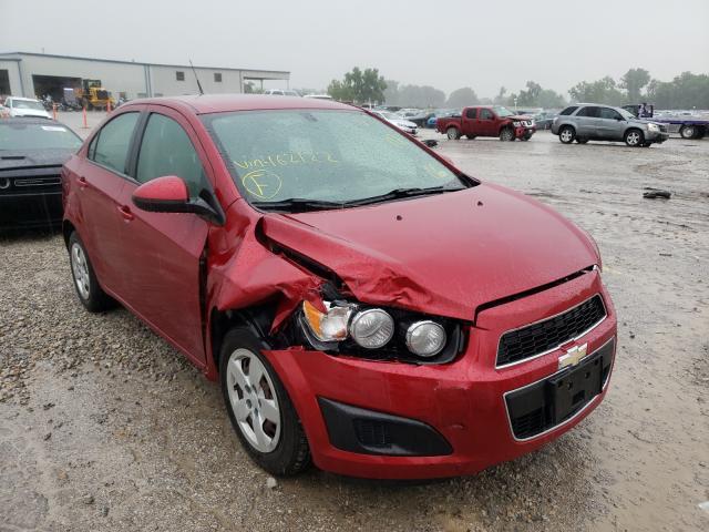 Vehiculos salvage en venta de Copart Kansas City, KS: 2014 Chevrolet Sonic LS