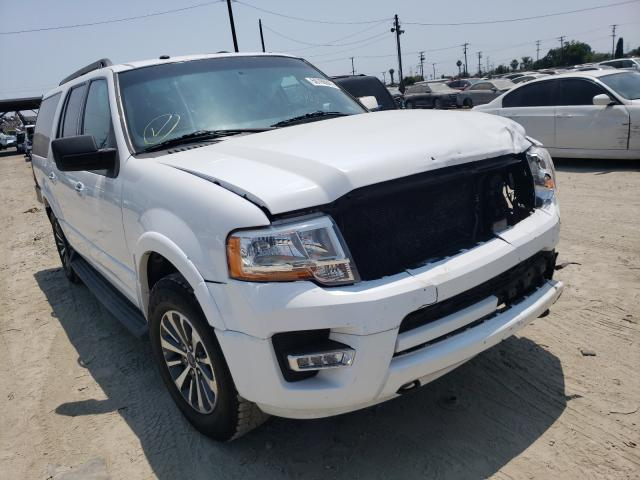 Salvage cars for sale from Copart Los Angeles, CA: 2016 Ford Expedition
