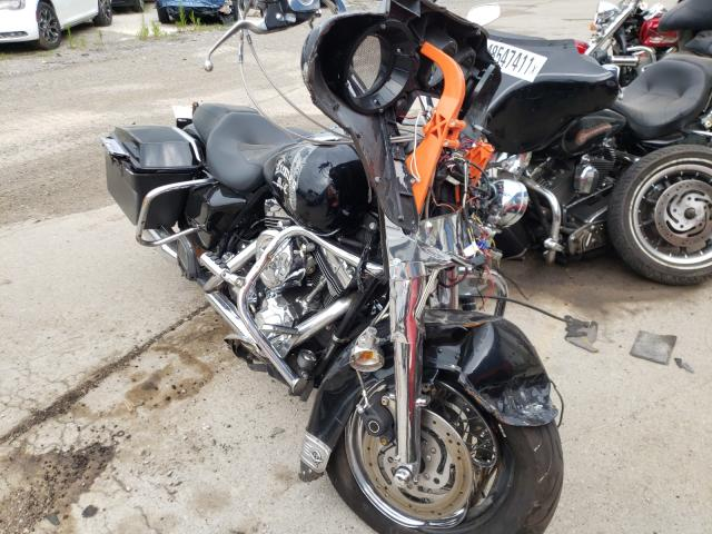 Salvage motorcycles for sale at Woodhaven, MI auction: 1999 Harley-Davidson Flhpi