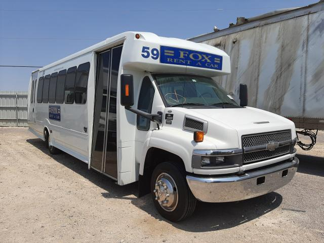Salvage cars for sale from Copart Las Vegas, NV: 2008 Chevrolet C5500 C5V0