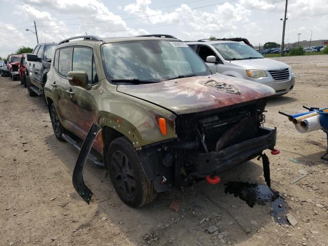 Vehiculos salvage en venta de Copart Indianapolis, IN: 2015 Jeep Renegade T
