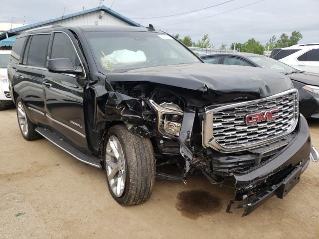 Salvage cars for sale from Copart Pekin, IL: 2018 GMC Yukon Dena