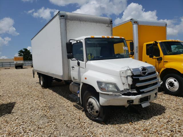 Salvage cars for sale from Copart Grand Prairie, TX: 2017 Hino 258 268