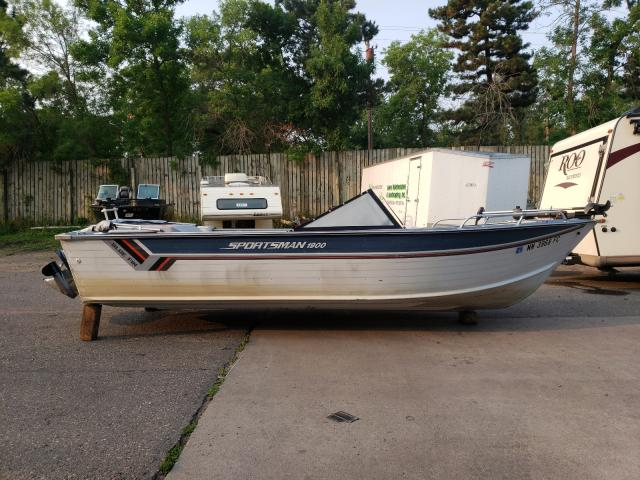 Blue Wave salvage cars for sale: 1987 Blue Wave Boat