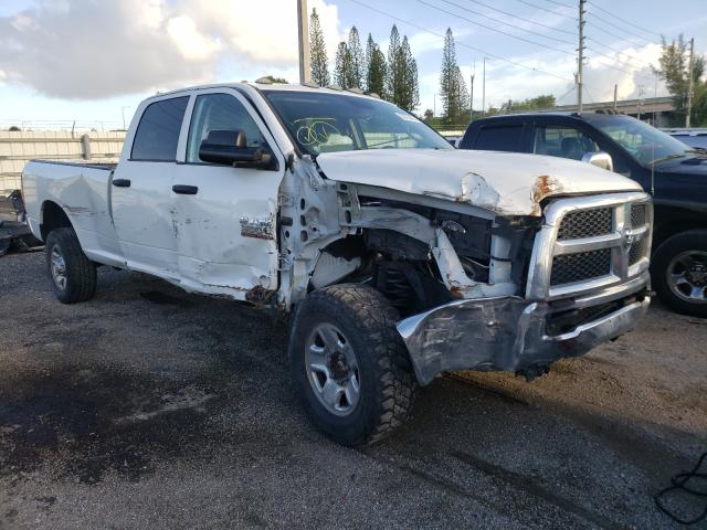 Salvage cars for sale from Copart Miami, FL: 2017 Dodge RAM 3500 ST