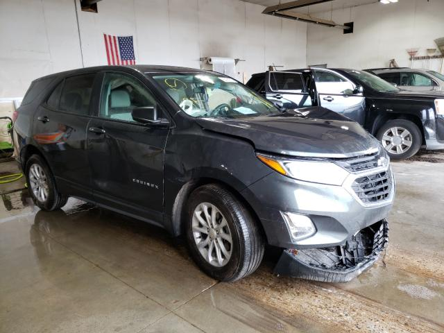 Salvage cars for sale from Copart Portland, MI: 2020 Chevrolet Equinox LS