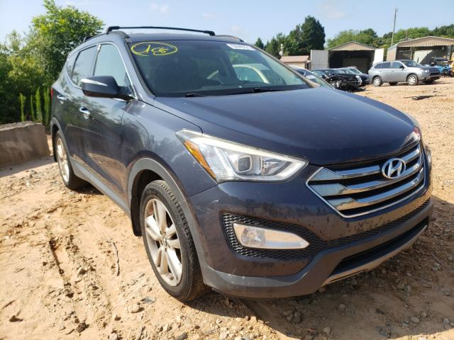 Salvage cars for sale from Copart China Grove, NC: 2013 Hyundai Santa FE S