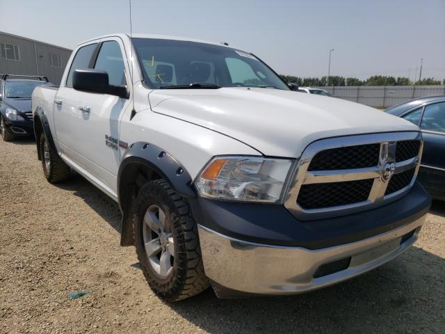 Salvage cars for sale from Copart Nisku, AB: 2014 Dodge RAM 1500 ST