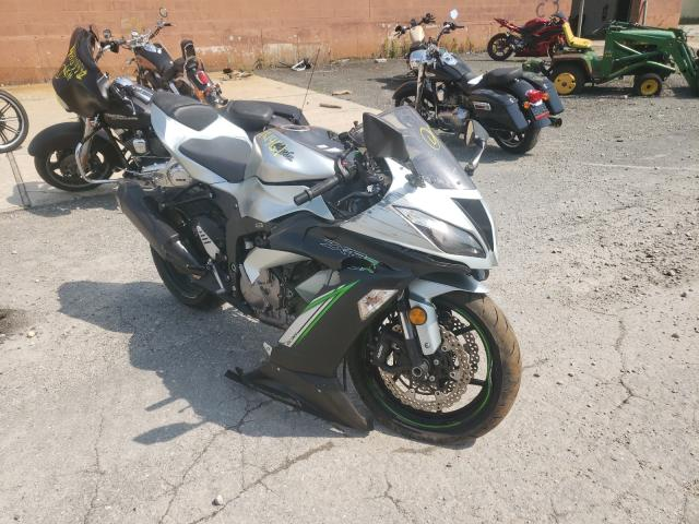 Salvage cars for sale from Copart North Billerica, MA: 2018 Kawasaki ZX636 E