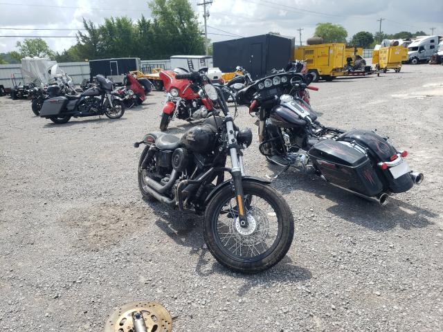 Salvage cars for sale from Copart Lebanon, TN: 2017 Harley-Davidson Fxdb Dyna