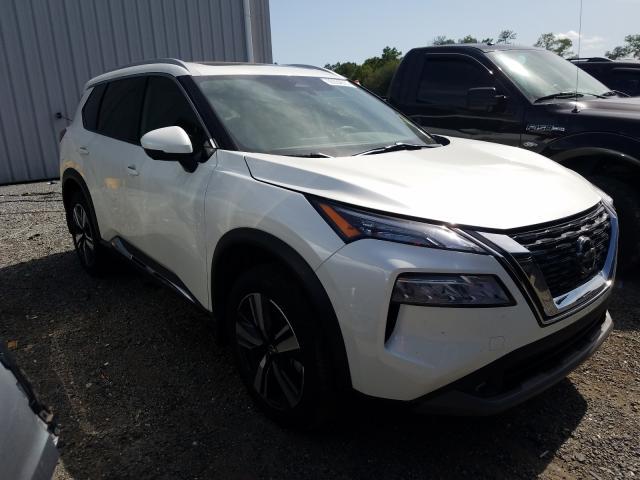 Nissan Vehiculos salvage en venta: 2021 Nissan Rogue SL