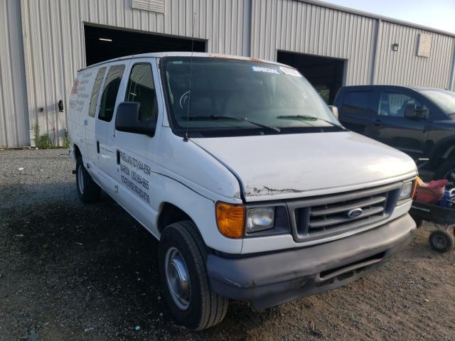 Vehiculos salvage en venta de Copart Jacksonville, FL: 2006 Ford Econoline