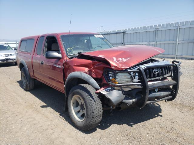 Salvage cars for sale from Copart Helena, MT: 2001 Toyota Tacoma XTR
