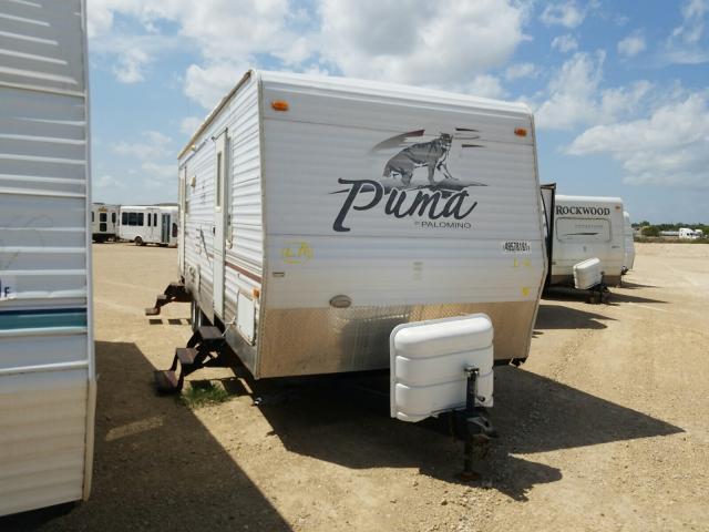 Palomino salvage cars for sale: 2007 Palomino Puma