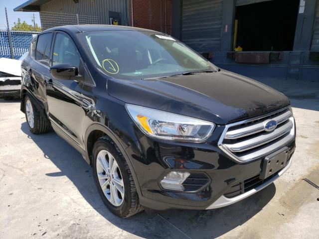 Salvage cars for sale from Copart Hayward, CA: 2017 Ford Escape SE
