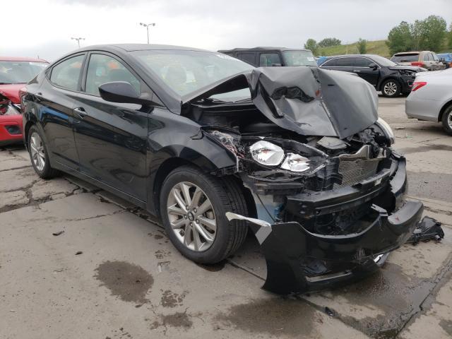 Salvage cars for sale at Littleton, CO auction: 2014 Hyundai Elantra SE